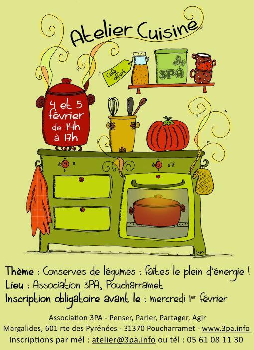 Ateliers cuisine for Ateliers de cuisine